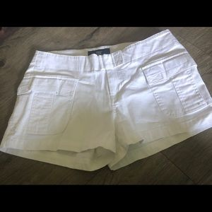 Pants - DBC White Pocketed Shorts
